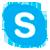 Скопировать номер «Skype»